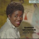 """Great Songs From Hit Shows [Vinyl] Sarah Vaughan"