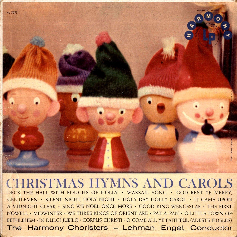 """Christmas Hymns and Carols [Vinyl]"