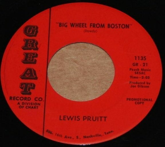 """""""Big Wheel From Boston / I'll Never Take Another Drink Again"""