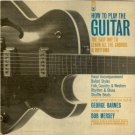 """""""How To Play The Guitar [Vinyl]"""