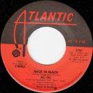 """""""Back in Black / What Do You Do For Money Honey [Vinyl]"""