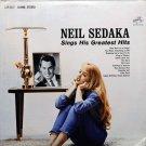 """Neil Sedaka Sings His Greatest Hits [LP]"