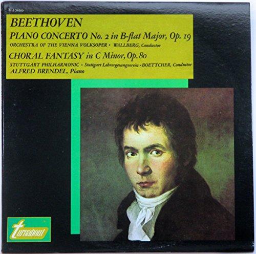 """""""Beethoven: Piano Concerto No.2 & Choral Fantasy [Vinyl]"""