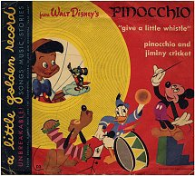 """""""Give a Little Whistle / Pinocchio and Jiminy Cricket [Vinyl]"""