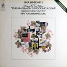 """""""Paul Hindemith Conducts His A Requiem For Those We Love ''When Lilacs Last In The Dooryard Bloom'd'"""
