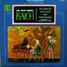 """Carl Philipp Emanuel Bach: Six Sonatas For Flute And Harpsichord [Vinyl]"