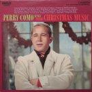 """Perry Como Sings Merry Christmas Music [Vinyl]"