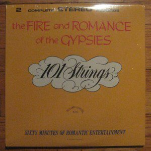 """""""The Fire And Romance Of The Gypsies [Vinyl]"""