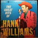 The Great Hits Of Hank Williams [Record]