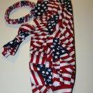 American Flag Cummerbund and Bow Tie set