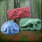 Kids Jurassic Triple Pack Dinosaur Soap - Silk & Shea