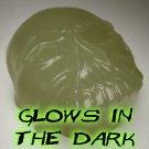 Glow in the Dark CRYSTAL SKULL Novelty Glycerin Soap - 6oz Skin Safe & Non-Toxic