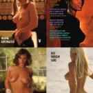 Playboy Centerfold Cards June Uncut 4-card Promo