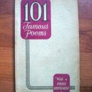 101 Famous Poems-1929-SALE