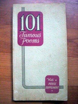 101 Famous Poems-1929-SALE