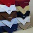 1000-TC Twin Sheet Set White Stripe Egyptian Cotton