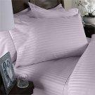 1200TC Calking Sheet Set Lavender Stripe 100% Egyptian Cotton