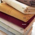 Queen Burgundy 1000-TC Duvet Cover 100% Egyptian Cotton