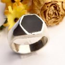 R0004 - RINGS WITH NATURAL ONYX (FREE SHIPPINGS)