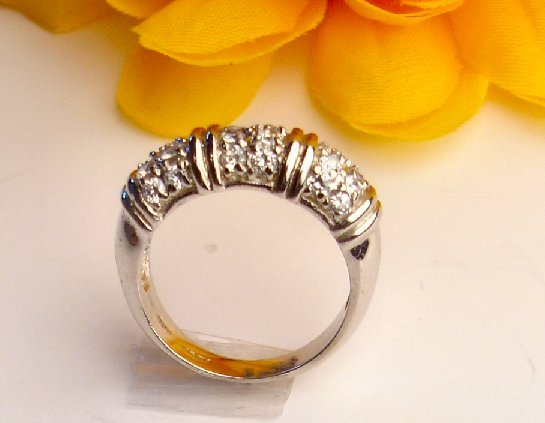 R0007 - RINGS CLEAR CZ (FREE SHIPPING)