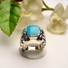 R0013 - RINGS WITH NATURAL TURQUOISE (FREE SHIPPING)