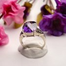 R0015 - RING WITH AMETHYST CZ (FREE SHIPPING)