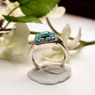 R0022 - RING NATURAL BLUE TURQUOISE (FREE SHIPPING)