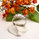 R0040 - RING WITH CLEAR CUBIC ZIRCONIA (FREE SHIPPING)