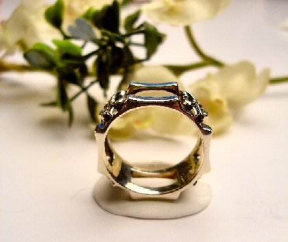 R0060 - STERLING SILVER 925 MAN'S BAND (FREE SHIPPING)