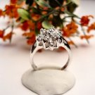R0054 - RING CLEAR CUBIC ZIRCONIA (FREE SHIPPING)