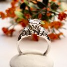 R0055 - RING WITH CLEAR CUBIC ZIRCONIA (FREE SHIPPING)