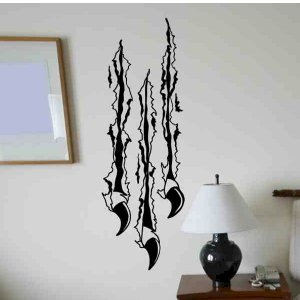wall decal claws ripping through the wall awesome kids wall decor