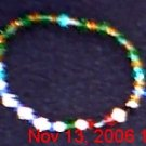 Crystal Rosary Bracelet