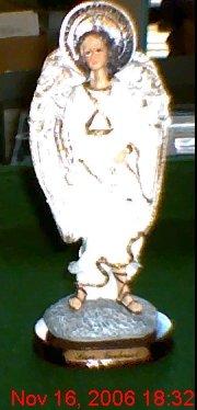 "St. Gabriel Archangel  8"" Statue/God's Messenger"