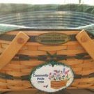 LONGABERGER 1996 EDITION TRADITIONS COMMUNITY BASKET