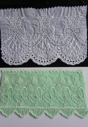LACE on fabrics -1