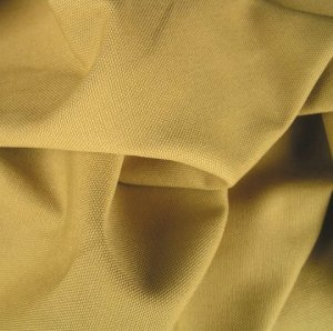 2 Y Organic Cotton Duck Canvas Upholstery Fabric Honey Gold