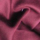 2 Y Organic Cotton Twill  Drapery Bedding Fabric Soft Silky WINE