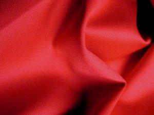 2 Y Organic Cotton Twill  Drapery Bedding Fabric Soft Silky TOMATO RED