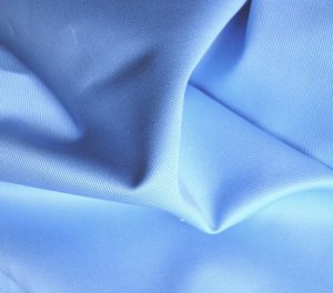2 Y Organic Cotton Twill  Drapery Bedding Fabric Soft Silky BLUEBELL