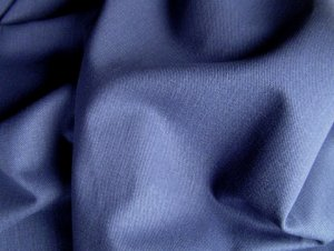 10 Y Navy Blue Twill Denim Slipcover Upholstery Fabric