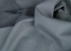 12 Y Graphite Gray Duckcloth Canvas Drapery Home Decorating Fabric