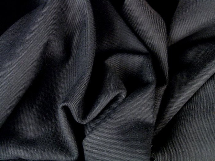 12 Y Black Duckcloth Canvas Drapery Home Decorating Fabric