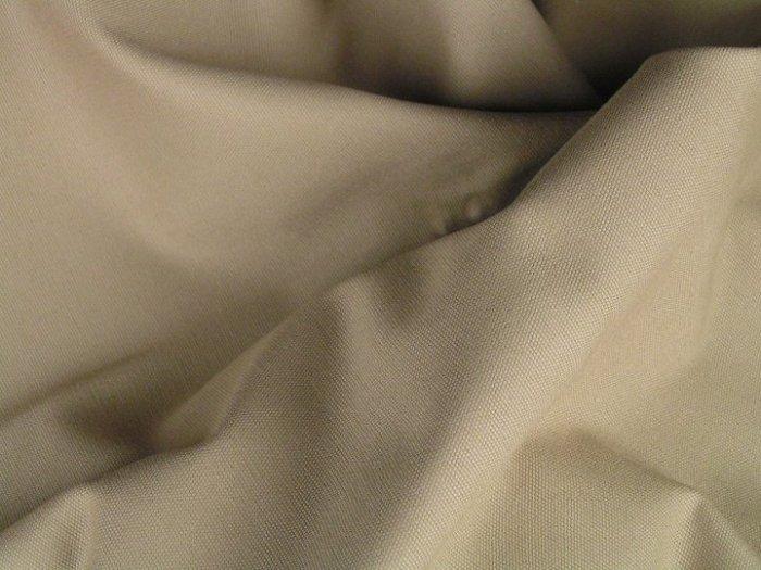 12 Y Khaki Duckcloth Canvas Drapery Home Decorating Fabric