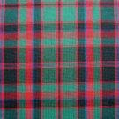 """RED GREEN BLACK BLUE MACDONALD TARTAN PLAID FABRIC 60"""" WIDE"""