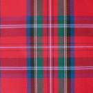 10 Y ROYAL STEWART TARTAN PLAID UPHOLSTERY FABRIC
