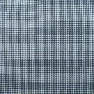 "10 Y NAVY BLUE WHITE HOUNDSTOOTH CHECK PLAID FABRIC 60"" WIDE"
