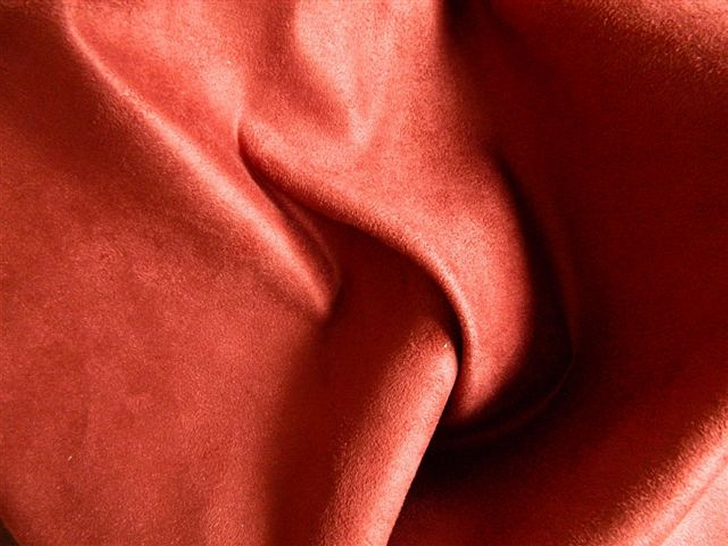 20 yards Ultrasuede Microfiber Suede Upholstery Slipcover Fabric BRICK