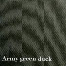 6 y Cotton Canvas Duckcloth Upholstery Fabric ARMY GREEN
