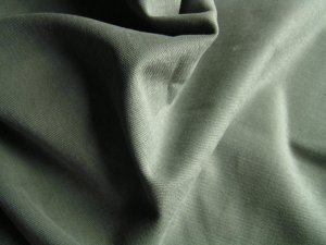 12 Y Spruce Green Twill Denim Slipcover Upholstery Fabric